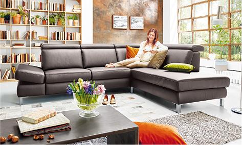 Polstergarnituren - Polstermöbelmarkt 59368 Werne, Polsterwelt Möbel Peters 48308 Senden-Bösensell