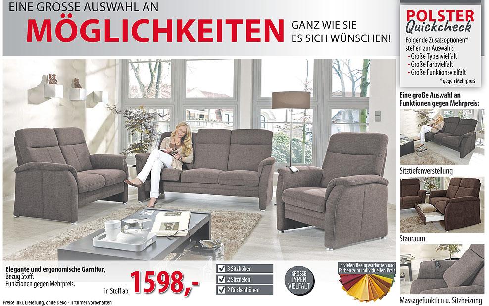 aktuelle werbung polsterm belmarkt werne. Black Bedroom Furniture Sets. Home Design Ideas